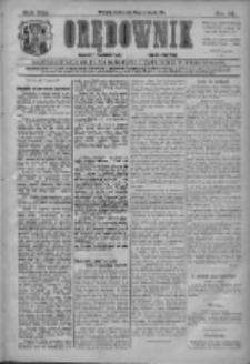 Orędownik: najstarsze ludowe pismo narodowe i katolickie w Wielkopolsce 1911.01.18 R.41 Nr14
