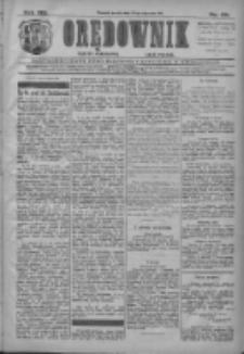 Orędownik: najstarsze ludowe pismo narodowe i katolickie w Wielkopolsce 1911.01.25 R.41 Nr20