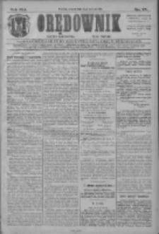 Orędownik: najstarsze ludowe pismo narodowe i katolickie w Wielkopolsce 1911.04.04 R.41 Nr77