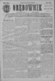 Orędownik: najstarsze ludowe pismo narodowe i katolickie w Wielkopolsce 1911.05.07 R.41 Nr105