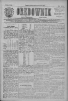 Orędownik: najstarsze ludowe pismo narodowe i katolickie w Wielkopolsce 1911.08.10 R.41 Nr181