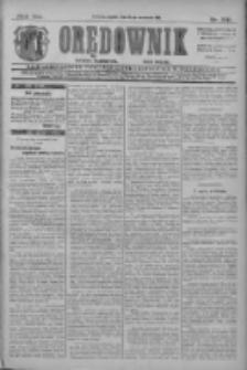 Orędownik: najstarsze ludowe pismo narodowe i katolickie w Wielkopolsce 1911.09.15 R.41 Nr210