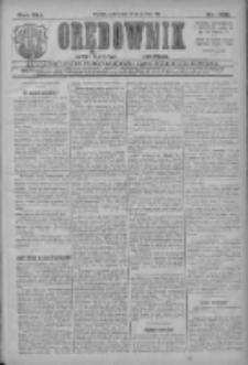 Orędownik: najstarsze ludowe pismo narodowe i katolickie w Wielkopolsce 1911.12.16 R.41 Nr286
