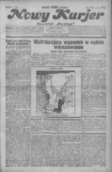 """Nowy Kurjer: dawniej """"Postęp"""" 1931.02.08 R.42 Nr31"""