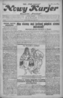 """Nowy Kurjer: dawniej """"Postęp"""" 1931.03.08 R.42 Nr55"""