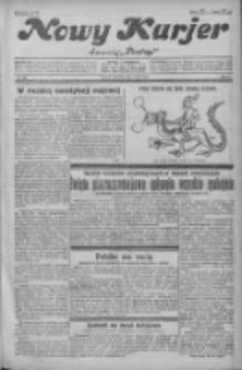 """Nowy Kurjer: dawniej """"Postęp"""" 1931.05.03 R.42 Nr102"""