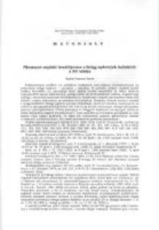 Nieznane zapiski heraldyczne z ksiąg sądowych kaliskich XV wieku