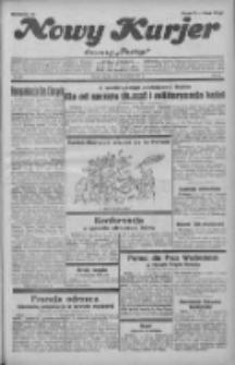 """Nowy Kurjer: dawniej """"Postęp"""" 1931.11.06 R.42 Nr257"""