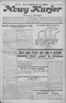 """Nowy Kurjer: dawniej """"Postęp"""" 1931.09.18 R.42 Nr215"""