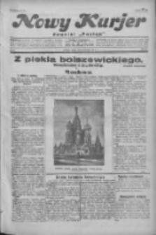 """Nowy Kurjer: dawniej """"Postęp"""" 1931.03.20 R.42 Nr65"""