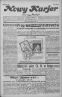 """Nowy Kurjer: dawniej """"Postęp"""" 1931.11.24 R.42 Nr272"""