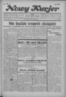 """Nowy Kurjer: dawniej """"Postęp"""" 1936.03.27 R.47 Nr73"""
