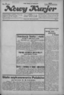 """Nowy Kurjer: dawniej """"Postęp"""" 1936.04.01 R.47 Nr77"""