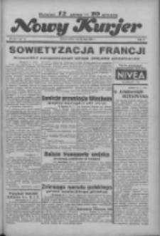 """Nowy Kurjer: dawniej """"Postęp"""" 1936.05.30 R.47 Nr126"""