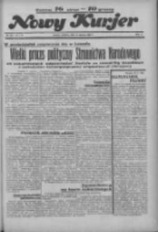 """Nowy Kurjer: dawniej """"Postęp"""" 1936.06.14 R.47 Nr137"""