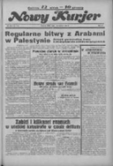 """Nowy Kurjer: dawniej """"Postęp"""" 1936.06.10 R.47 Nr134"""
