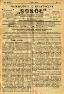 """Przewodnik Gimnastyczny """"Sokół"""": organ Związku Polskich Gimnastycznych Towarzystw Sokolich w Austryi 1918.02 R.35 Nr2"""