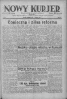 Nowy Kurjer: dziennik poświęcony sprawom politycznym i społecznym 1938.02.13 R.49 Nr35