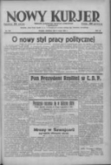 Nowy Kurjer: dziennik poświęcony sprawom politycznym i społecznym 1938.05.08 R.49 Nr105