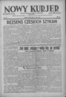 Nowy Kurjer: dziennik poświęcony sprawom politycznym i społecznym 1938.07.10 R.49 Nr162