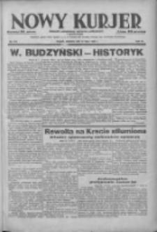Nowy Kurjer: dziennik poświęcony sprawom politycznym i społecznym 1938.07.31 R.49 Nr173