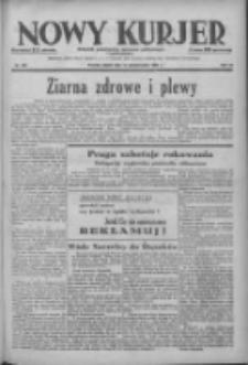 Nowy Kurjer: dziennik poświęcony sprawom politycznym i społecznym 1938.10.14 R.49 Nr236