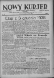 Nowy Kurjer: dziennik poświęcony sprawom politycznym i społecznym 1938.12.05 R.49 Nr279