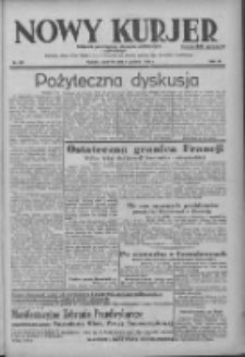 Nowy Kurjer: dziennik poświęcony sprawom politycznym i społecznym 1938.12.08 R.49 Nr281