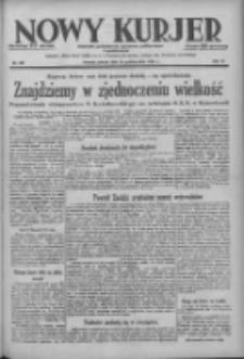 Nowy Kurjer: dziennik poświęcony sprawom politycznym i społecznym 1938.10.18 R.49 Nr239