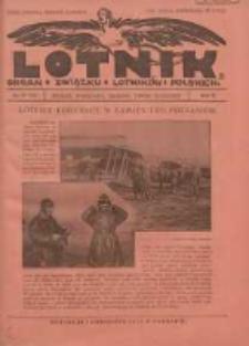 Lotnik: organ Związku Lotników Polskich 1925 R.2 Nr17(34)