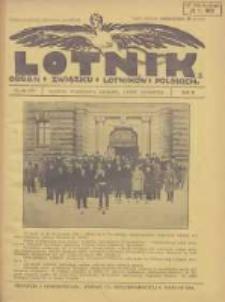 Lotnik: organ Związku Lotników Polskich 1925 R.2 Nr18(35)