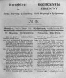 Amtsblatt der Königlichen Preussischen Regierung zu Bromberg. 1845.01.31 No.5