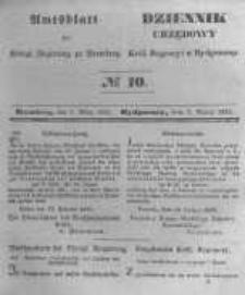 Amtsblatt der Königlichen Preussischen Regierung zu Bromberg. 1845.03.07 No.10