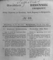 Amtsblatt der Königlichen Preussischen Regierung zu Bromberg. 1845.05.30 No.22