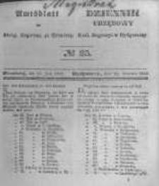 Amtsblatt der Königlichen Preussischen Regierung zu Bromberg. 1845.06.20 No.25