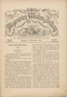 Allgemeine Moden-Zeitung : eine Zeitschrift für die gebildete Welt, begleitet von dem Bilder-Magazin für die elegante Welt 1893.11.13 Nr46