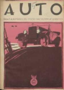 Auto: ilustrowane czasopismo sportowo-techniczne: organ Automobilklubu Polski oraz Klubów Afiliowanych: revue sportive et technique de l' automobile: organe officiel de l'Automobile-Club de Pologne et des clubs afiliés 1925.06.20 R.4 Nr12