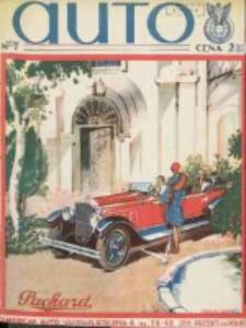 Auto: ilustrowane czasopismo sportowo-techniczne: organ Automobilklubu Polski oraz Klubów Afiliowanch: revue sportive et technique de l' automobile: organe officiel de l'Automobile-Club de Pologne et des clubs afiliés 1929 lipiec R.8 Nr7