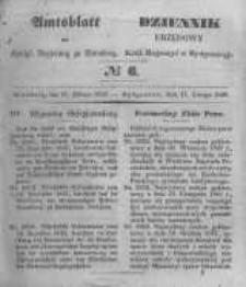 Amtsblatt der Königlichen Preussischen Regierung zu Bromberg. 1848.02.11 No.6
