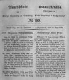Amtsblatt der Königlichen Preussischen Regierung zu Bromberg. 1848.05.12 No.20