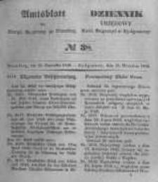 Amtsblatt der Königlichen Preussischen Regierung zu Bromberg. 1848.09.15 No.38