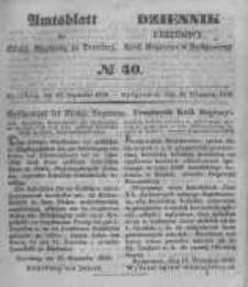 Amtsblatt der Königlichen Preussischen Regierung zu Bromberg. 1848.09.29 No.40