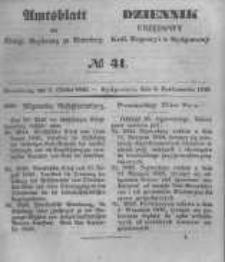 Amtsblatt der Königlichen Preussischen Regierung zu Bromberg. 1848.10.06 No.41