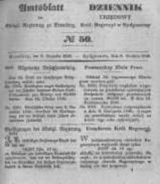 Amtsblatt der Königlichen Preussischen Regierung zu Bromberg. 1848.12.08 No.50