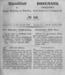 Amtsblatt der Königlichen Preussischen Regierung zu Bromberg. 1848.12.22 No.52