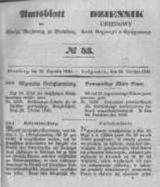 Amtsblatt der Königlichen Preussischen Regierung zu Bromberg. 1848.12.29 No.53