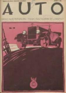 Auto: ilustrowane czasopismo sportowo-techniczne: organ Automobilklubu Polski oraz Klubów Afiliowanych: revue sportive et technique de l' automobile: organe officiel de l'Automobile-Club de Pologne et des clubs afiliés 1925.05.20 R.4 Nr10