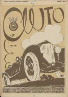 Auto: ilustrowane czasopismo sportowo-techniczne: organ Automobilklubu Polski oraz Klubów Afiliowanych: revue sportive et technique de l' automobile: organe officiel de l'Automobile-Club de Pologne et des clubs afiliés 1925.09.20 R.4 Nr18