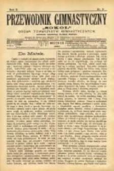 """Przewodnik Gimnastyczny """"Sokół"""": organ Towarzystw Gimnastycznych 1890.09 R.10 Nr9"""