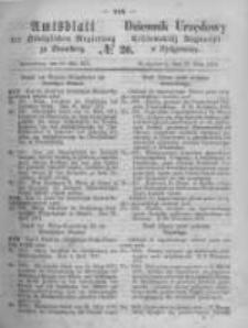 Amtsblatt der Königlichen Preussischen Regierung zu Bromberg. 1871.05.19 No.20